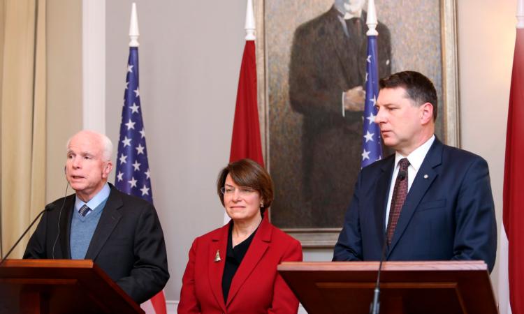 Latviju apmeklēs ASV Kongresa delegācija